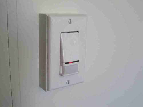Install occupancy sensors to control interior lighting