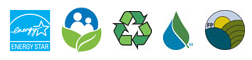Icons for the Environemental Programs listed in the GPC