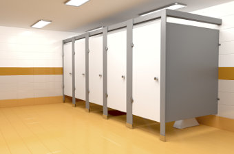 Shower and Restroom Dividers/Partitions