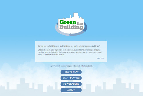 Practice implementing sustainable strategies under cost constraints with Green the Building