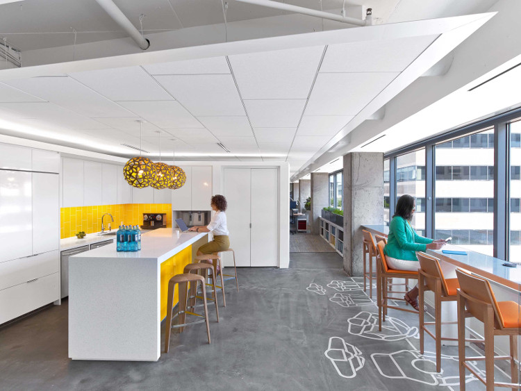 ASID HQ DC, Photo by Eric Laignel, Courtesy of Perkins+Will
