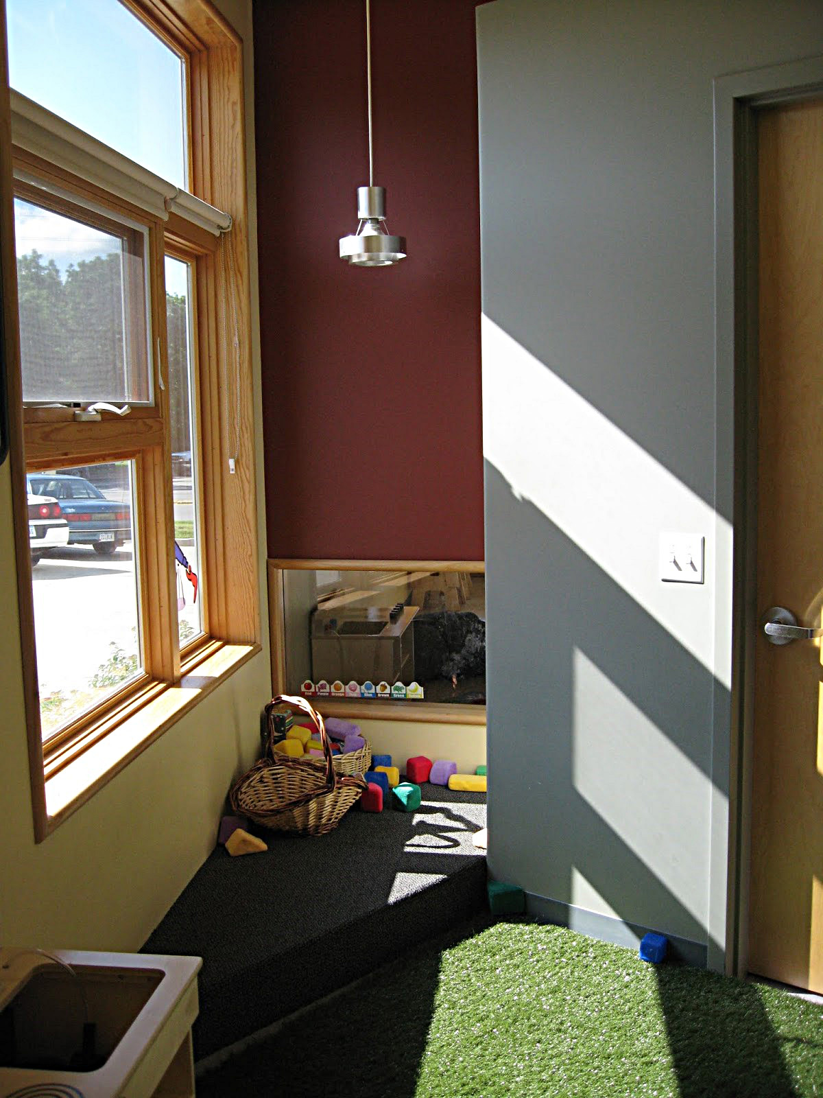 Windows in Child Care Center