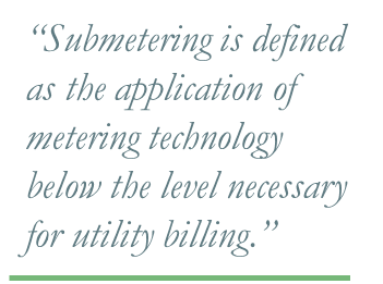 What is Submetering